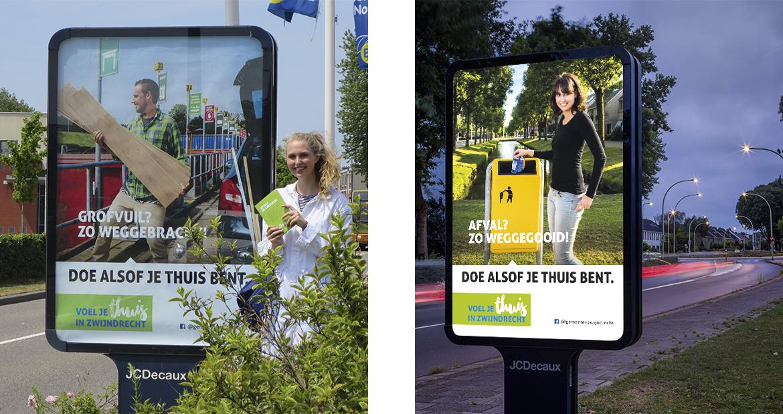 Afvalcampagne Voel je thuis in Zwijndrecht
